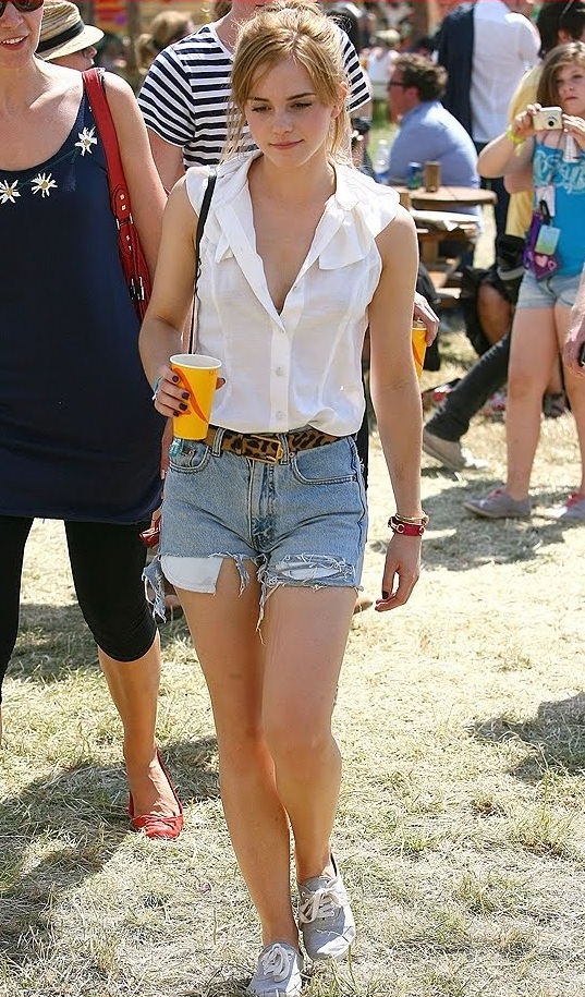 Emma Watson Street Fashion 2012
