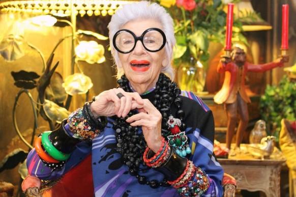 Iris Apfel fashion